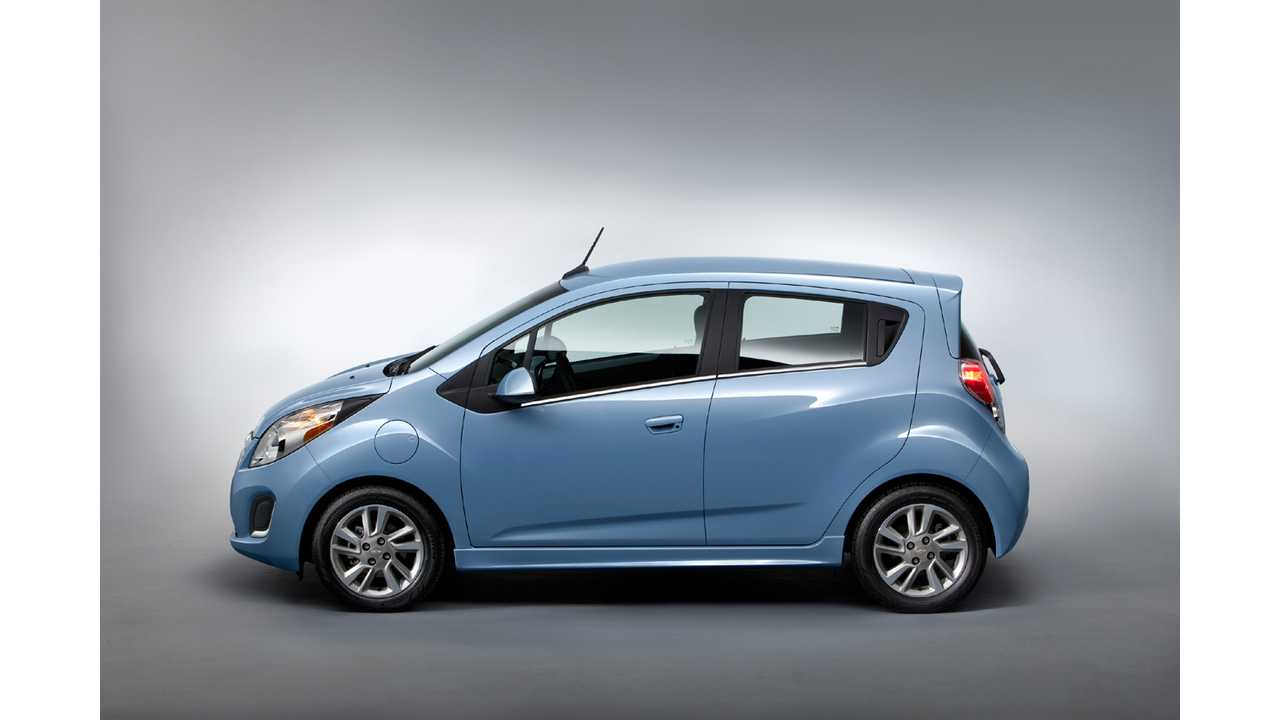 Chevy Spark EV is #1 on 2014 EPA Fuel Economy Guide Top 10 Most Fuel Efficient List