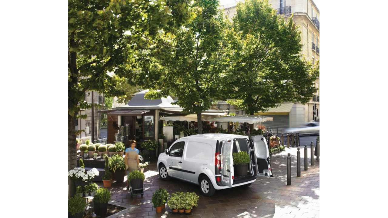 Apparently, Renault Kangoo Z.E. is Best Suited to Delivering the Greens