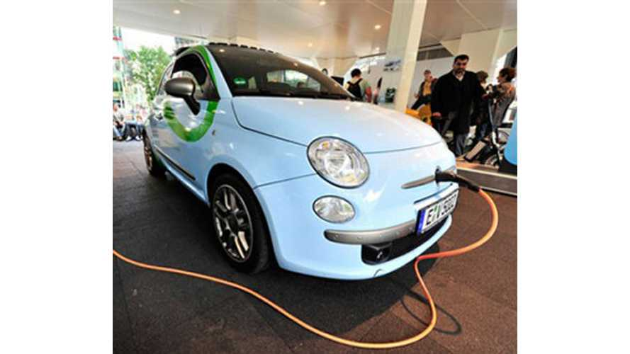Chrysler-FIAT To Build EV For 2013, The 500E (VIDEO)