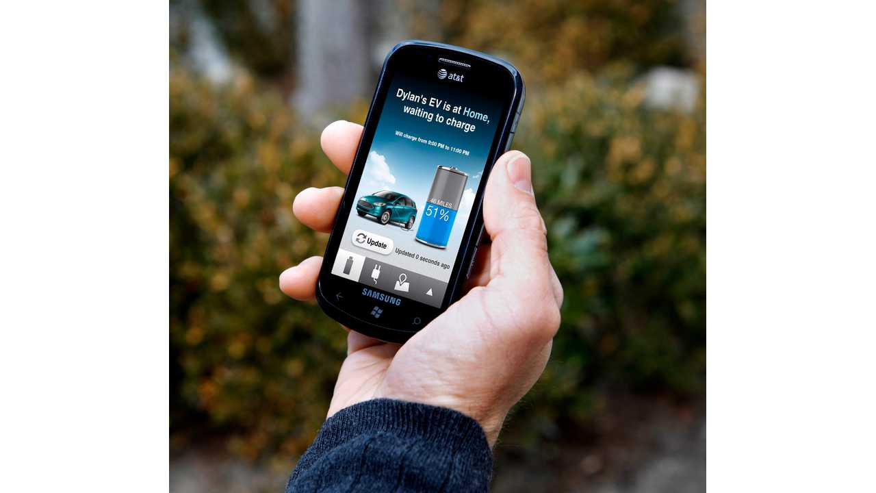 Ford's MyFord App Helping Ford EV (Video)