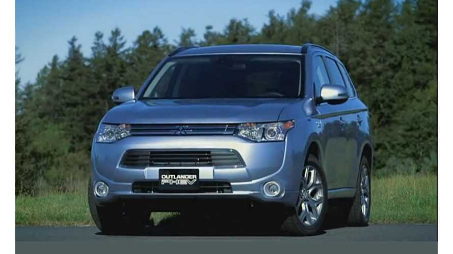 Mitsubishi Outlander PHEV On Sale In Japan Today, Extended Promotional Video Released