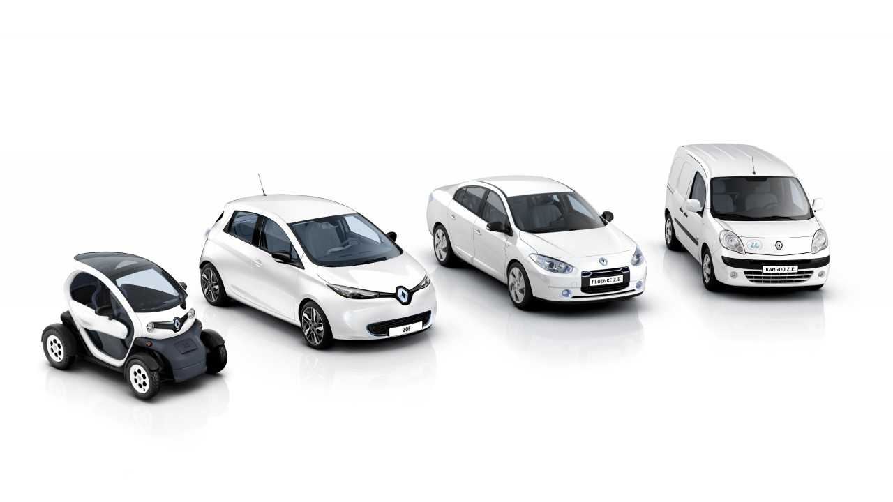 Sales of Renault Electric Vehicles on the Decline in 2013; Only Zoe Shows Promise