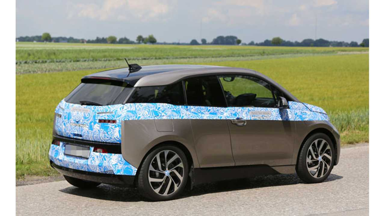 BMW i3 Shows Of What Figures To Be Production Wheels