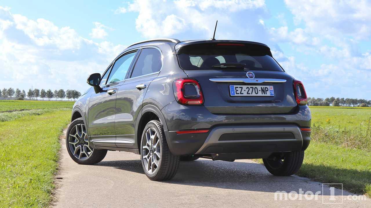 Essai Fiat 500X restylée 2018