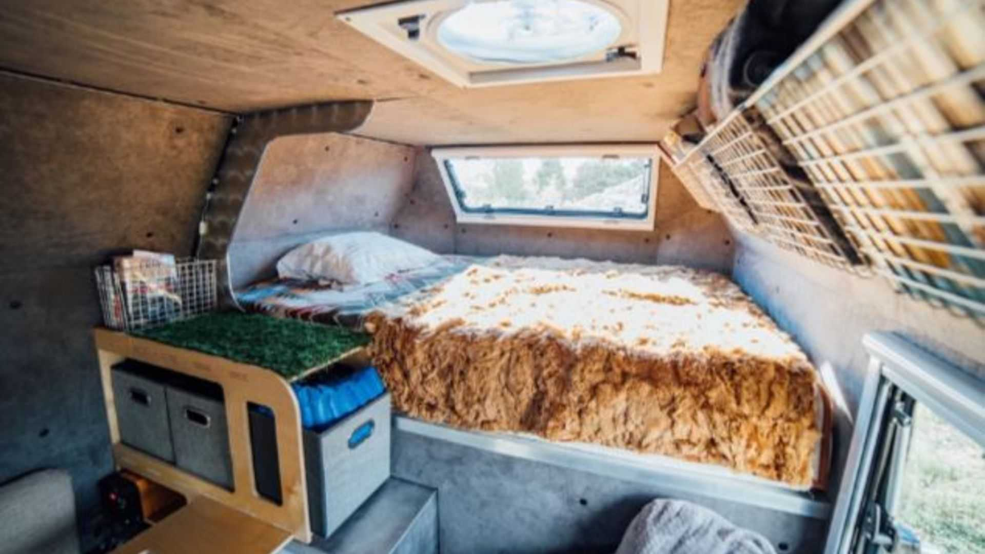 Kimbo Camper Converts Pickup Truck To Go Anywhere Rv