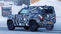 Land Rover Defender 90 Spy Shots