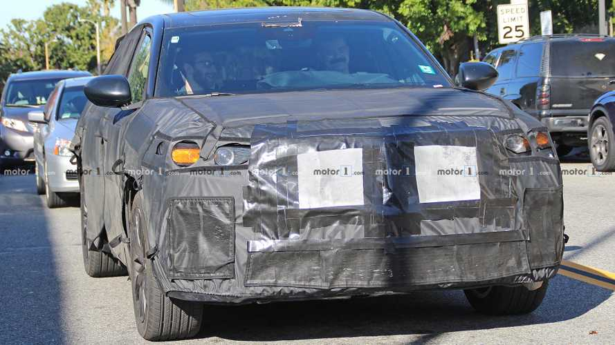 2020 Acura MDX Type S Spied Testing Under Lots Of Concealment
