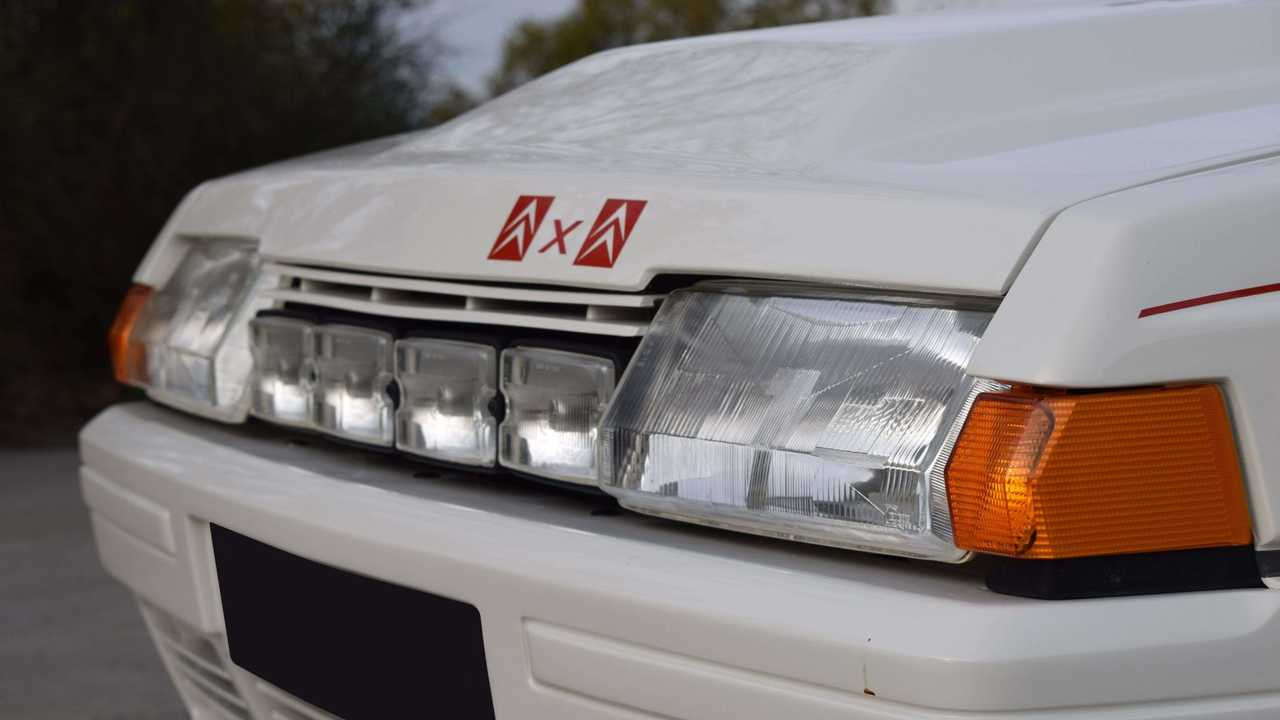 Citroen BX 4TC homologation Artcurial auction