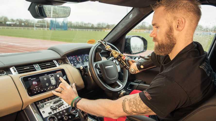 Jaguar Land Rover mobility door prototype