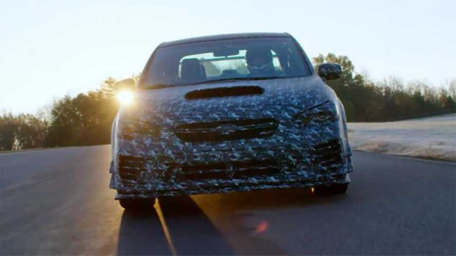 Subaru Impreza WRX STI Detroit teaser video