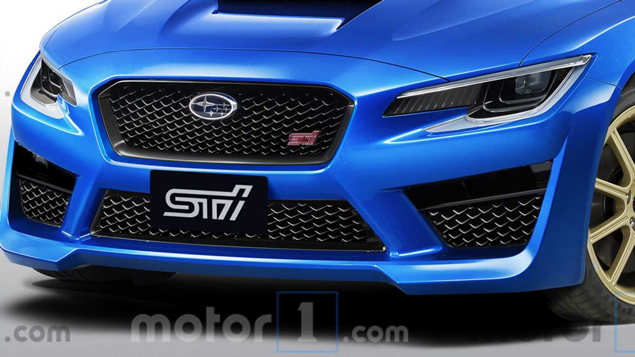 Render Subaru WRX STI 2020