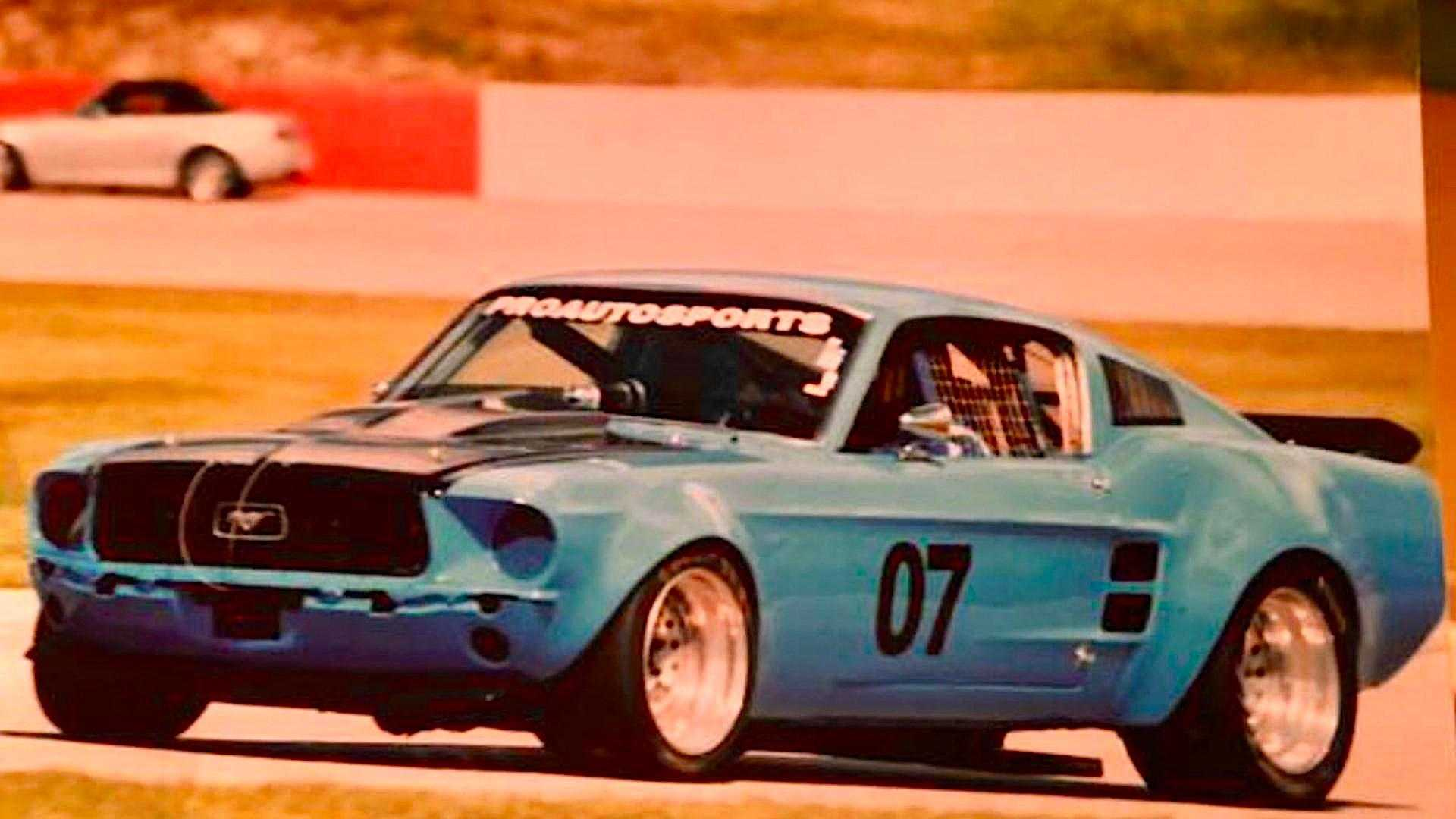 "[""Overhauled 1967 Ford Mustang racer is a track-ready beauty""]"