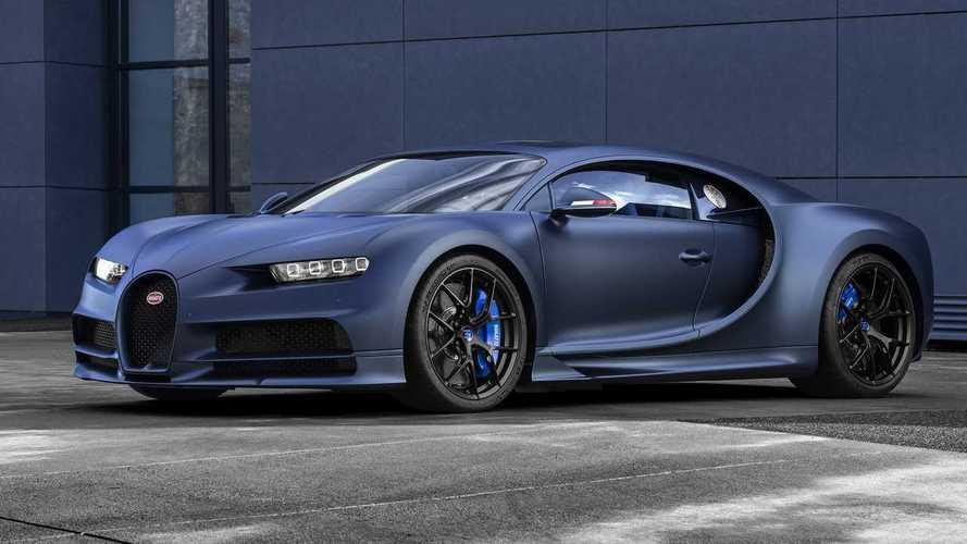 Bugatti Chiron Sport посвятили 110-летию марки