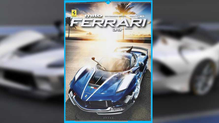 Ferrari Sells 5,000 Scratch-N-Sniff Calendars At $97 Each