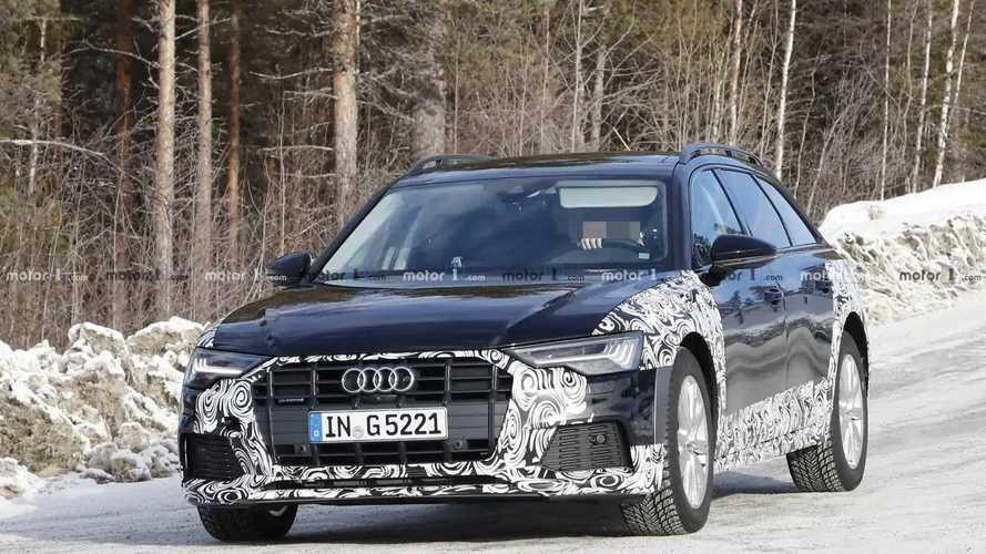 Audi A6 Allroad 2020, fotos espía
