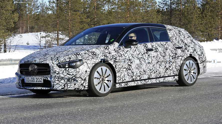flipboard mercedes amg cla 35 shooting brake spied update. Black Bedroom Furniture Sets. Home Design Ideas