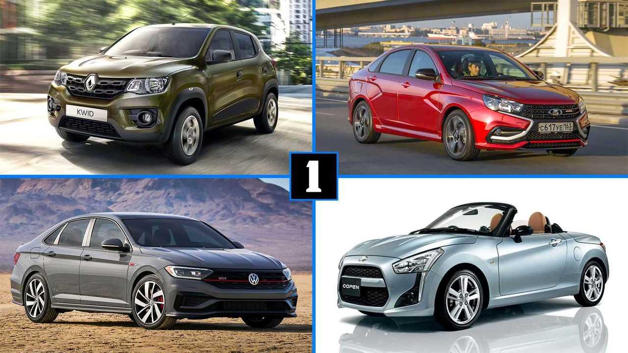 10 Autos die wir gerne auch in Europa hätten