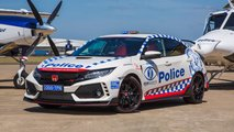 Honda Civic Type R version police