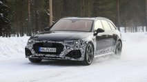 2020 Audi RS4 Avant facelift spy photo