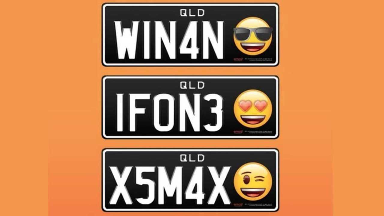 Avustralya Emoji Plakalar