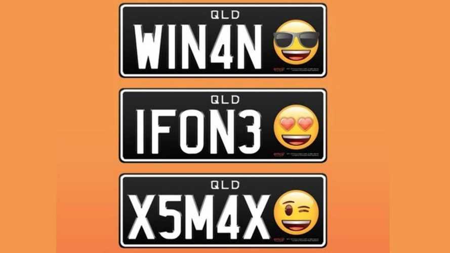 Avustralyalılar, plakalarında emoji kullanmaya başlayacak