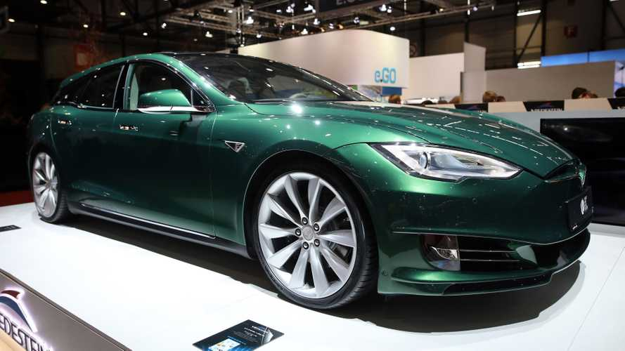 UK coachbuilder presents Tesla Model S for estate fans