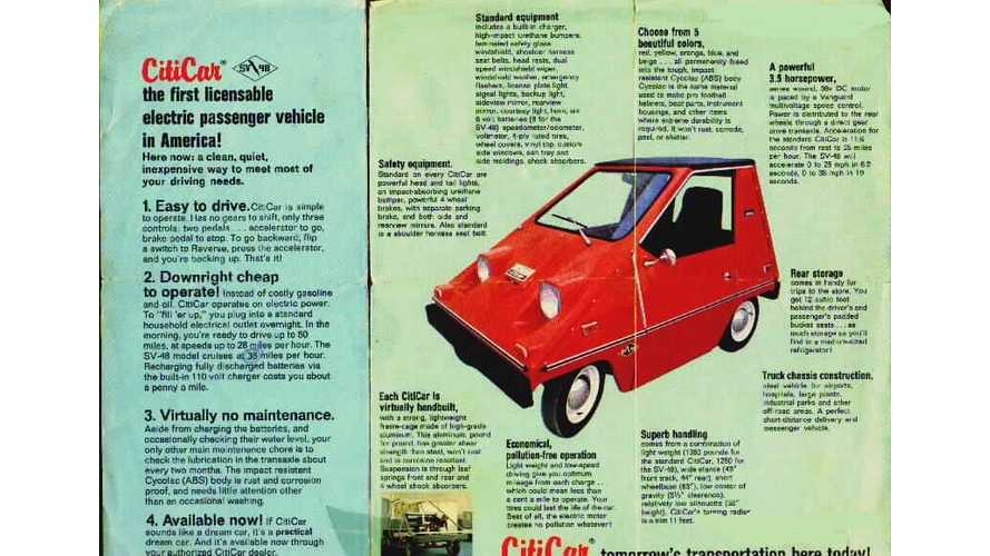 1976 Electric Vanguard CitiCar Goes Up For Sale...Sells in a Flash