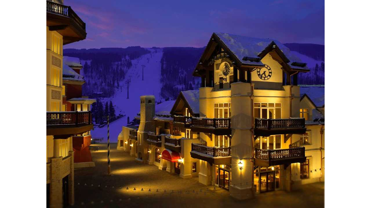 Vail, Colorado is Scenic as Can Be