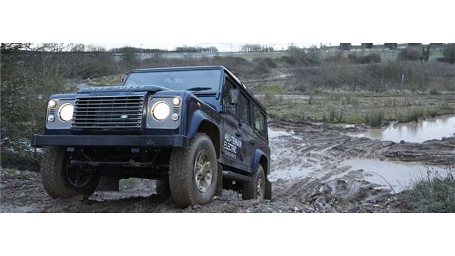 Land Rover to Unveil Electric Defender SUV at 2013 Geneva Motor Show