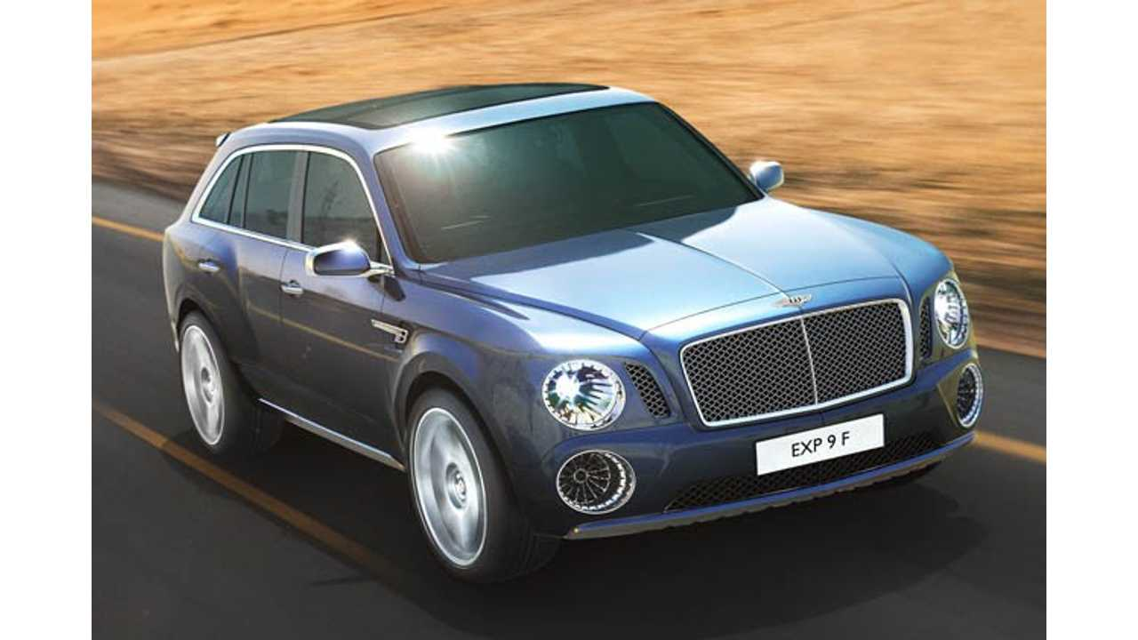 Bentley Confirms Upcoming Production of Plug-In Hybrid SUV
