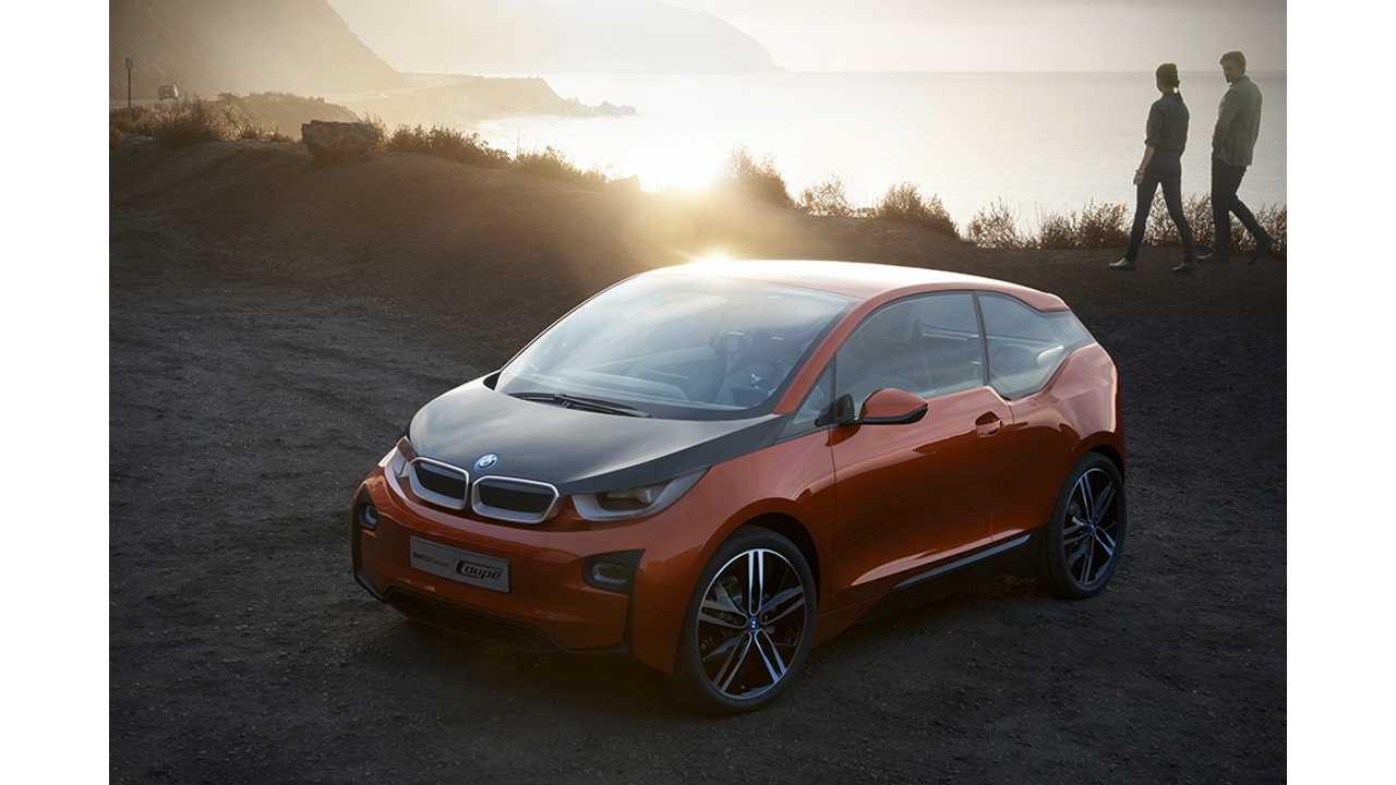 We Keep Showing The BMW i3 Concept Coupe Because The Production 5-Door Has Yet To Be Revealed