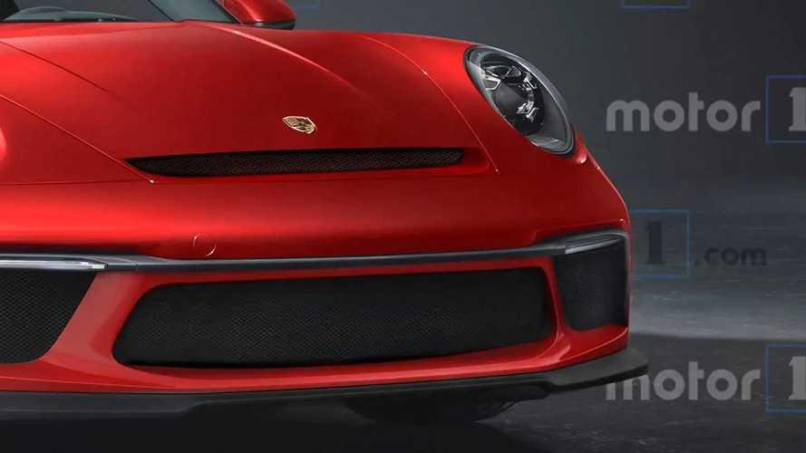 Rendering Porsche 911 GT2 RS 2021