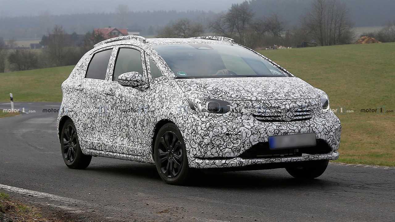Flagra: Novo Honda Fit 2020
