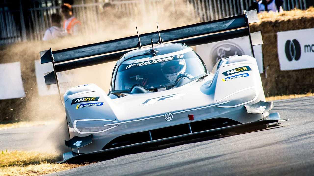 Volkswagen ID. R al Goodwood Festival of Speed