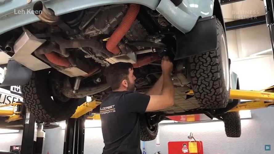 Ralli Araçlarına Dönüştürülmüş Porsche 911'ler