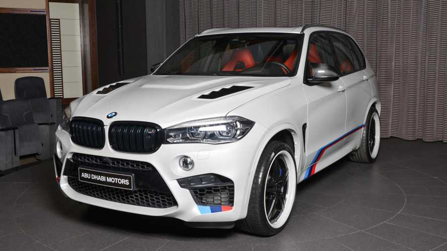 Modified BMW X5 M in Abu Dhabi