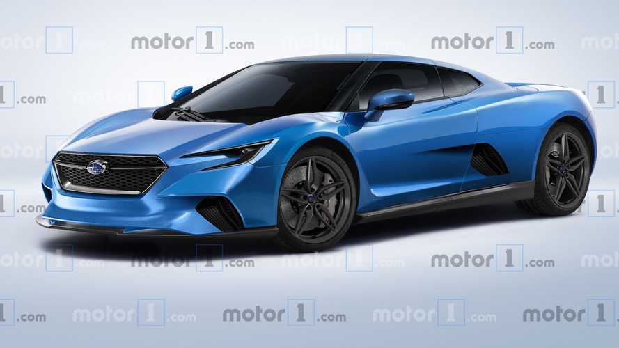 Mid-engine Subaru render has us hoping the rumours are true