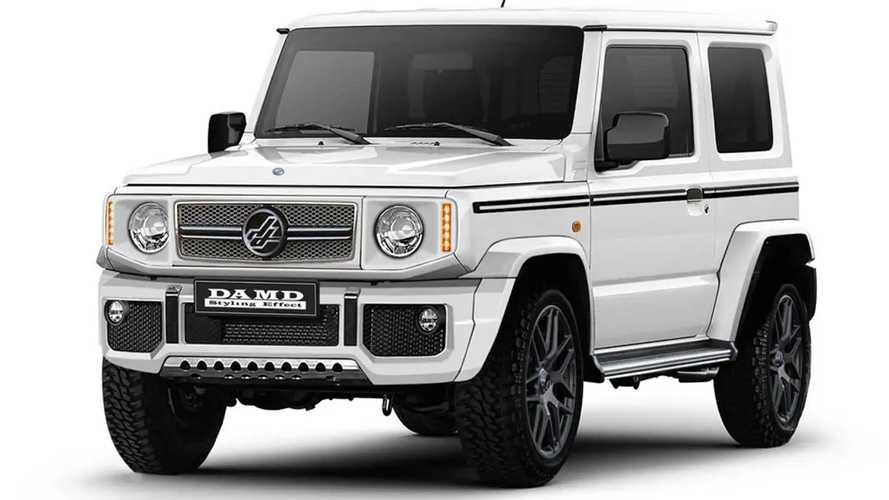 Japan-Tuner Damd macht Suzuki Jimny zur G-Klasse