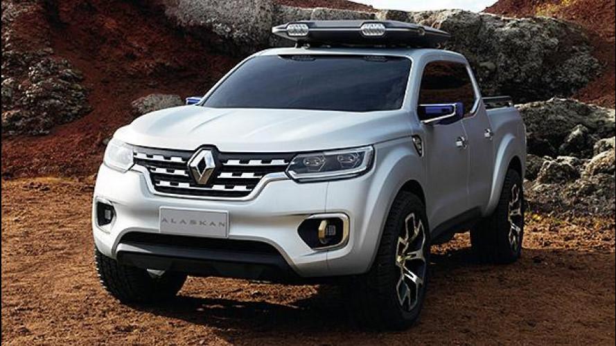 Renault Alaskan, uno show di pick-up