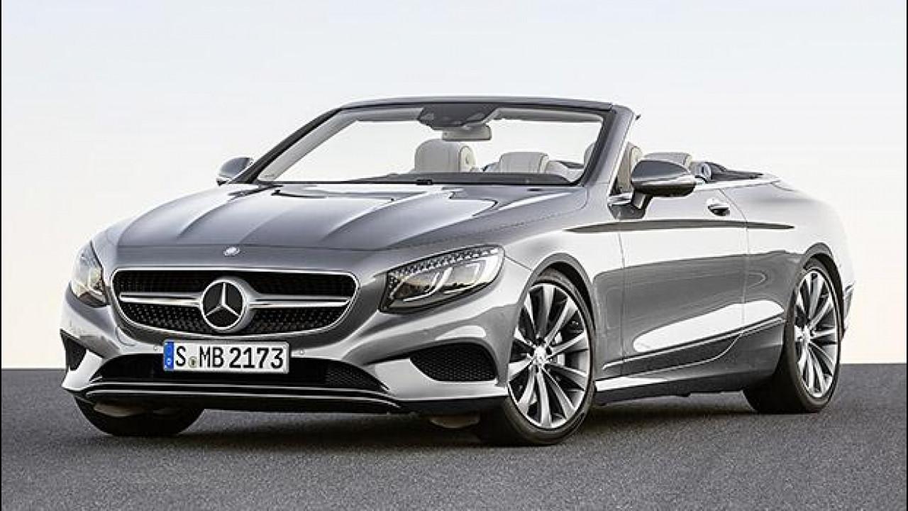 [Copertina] - Mercedes Classe S Cabrio, sublime scoperta