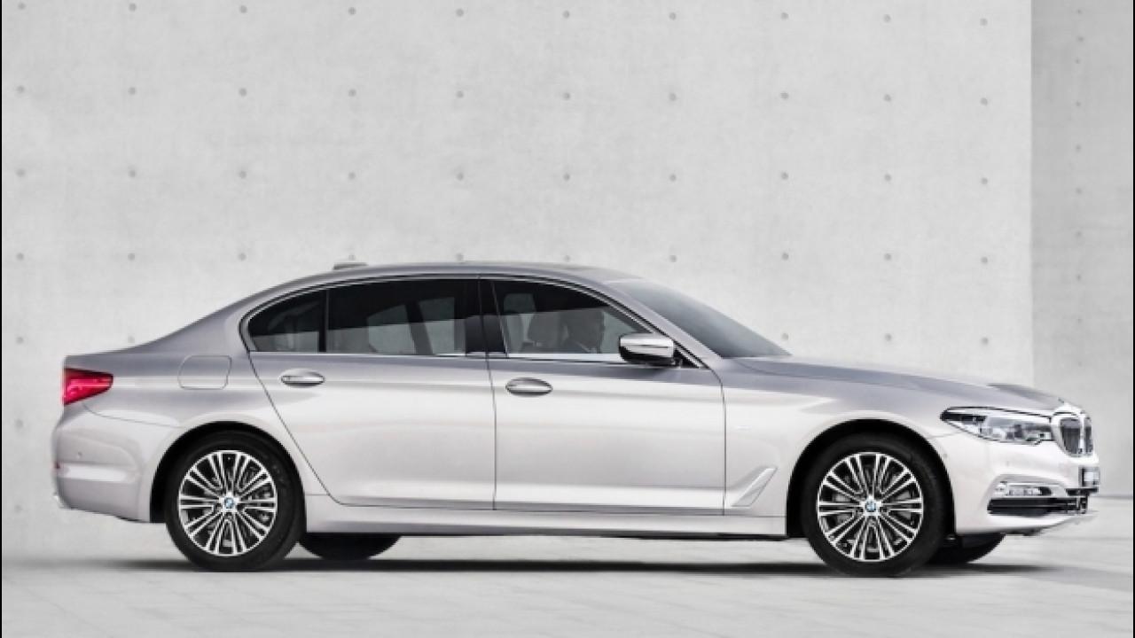 [Copertina] - BMW Serie 5, a Shanghai col passo lungo