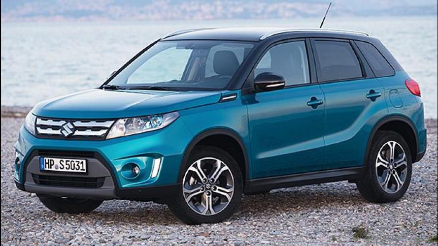 Suzuki Vitara, ora anche 1.6 diesel doppia frizione e GPL