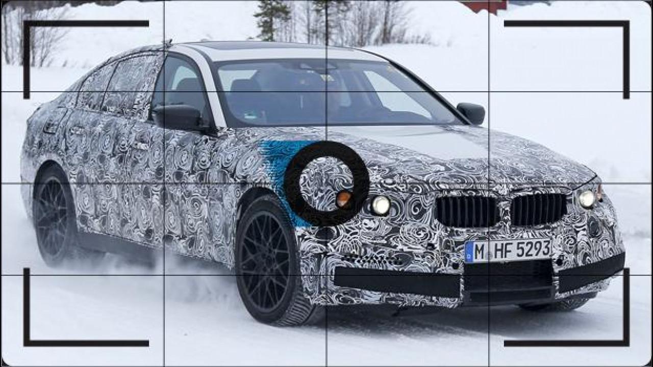 [Copertina] - Nuova BMW M5, prove di leggerezza