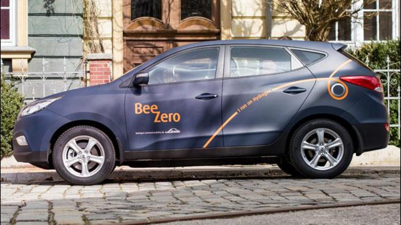 [Copertina] - Hyundai BeeZero, il car sharing che va a idrogeno