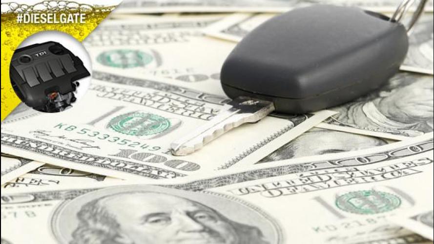 Dieselgate, 4.400 euro di risarcimento per cliente (negli USA)