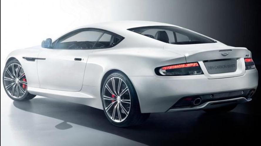 [Copertina] - Aston Martin DB9 Carbon Black e Carbon White