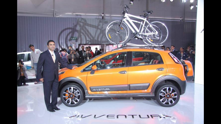 Fiat Avventura, dall'India tutte le foto e il VIDEO