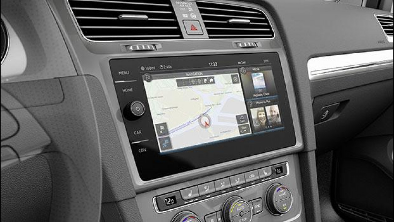 [Copertina] - Volkswagen e-Golf Touch, l'auto a misura di smartphone
