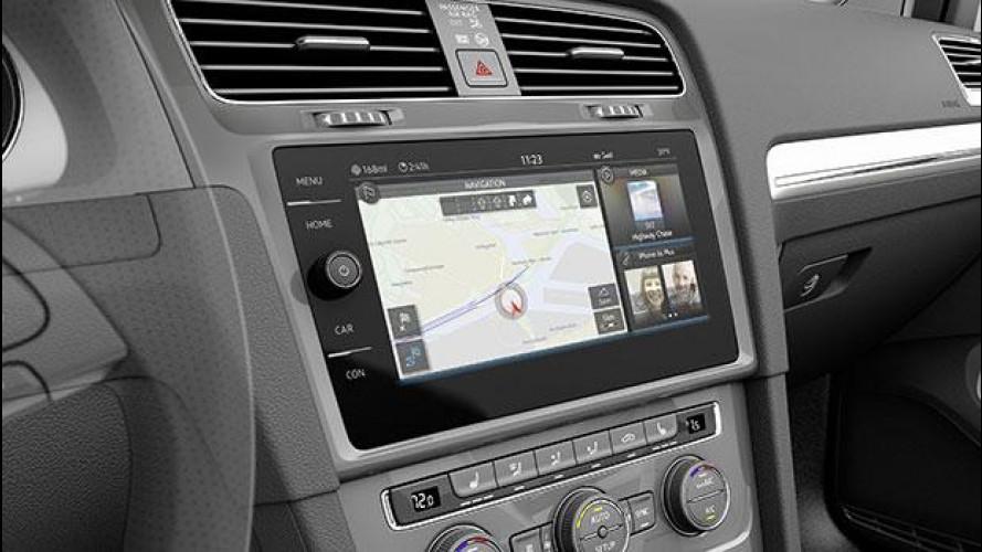 Volkswagen e-Golf Touch, l'auto a misura di smartphone