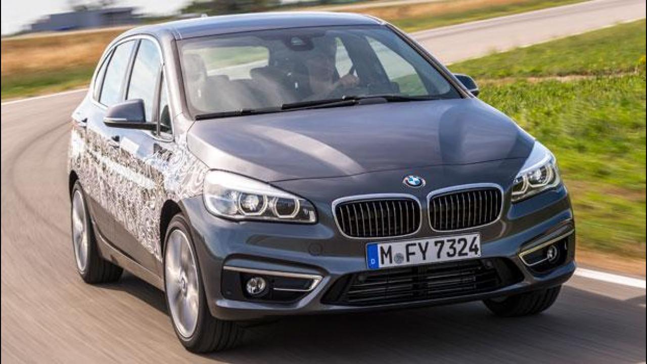 """[Copertina] - BMW Serie 2 Active Tourer Plug-in-Hybrid, """"ciao ciao benzina"""""""